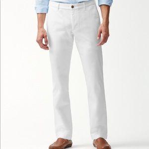 NWOT Men's White Chino Pants